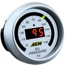 AEM 52mm Oil Pressure 150psi Digital Gauge