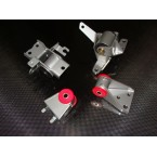 AWR Engine Mount Kit - 4 Piece For Protege And Mazdaspeed Protege